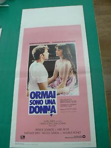 LOCANDINA manifesto ORMAI SONO UNA DONNA di BERTRAND BLIER 1981