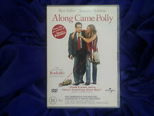 ALONG CAME POLLY -M15+ COMEDY DVD MOVIE - Ben Stiller -  Jennifer Aniston