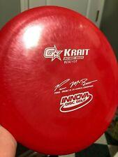 New! Oop iNnova 2x Paul McBeth Gstar Krait Red w/ White stamp @ 175 disc golf