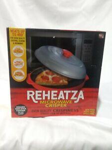 Allstar Products REHEATZA Microwave Crisper #01106, As Seen on TV