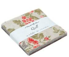"Moda QUILL 42 5"" Quilt Fabric Squares 44150PP Charm Pack By 3 Sisters"