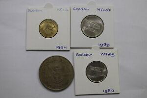 SOEDAN 4 COINS LOT A99 BX10 - 22