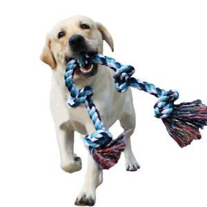 XXL Gross Hundespielzeug Seil mit Knoten Tau f. mittlere und große Hunde 😍😃🐕