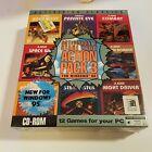 SEALED PC BIG BOX Game:  ATARI 2600 ACTION PACK 3