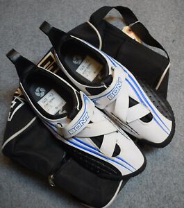 Bont A-2 Microfiber Road Cycling Shoes Size 43 9 New White