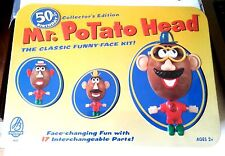 "MR. POTATO HEAD ""50th BIRTHDAY"" COLLECTORS EDITION FUNNY FACE KIT (SEALED) NEW !"