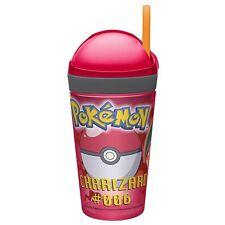Zak Nintendo Pokemon Charizard 10 oz Drink 4 Oz snack 2 in 1 Tumbler