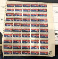 Scott 1306, 5 cent, Migratory Bird Treaty   FULL SHEET of 50 - 1966