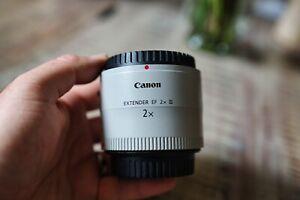 Canon Extender EF 2.0x III Neuwertig Objektiv Telekonverter