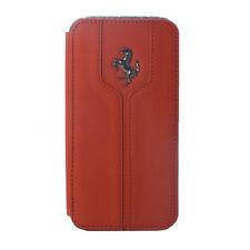 Etui folio rouge marque ferrari montecarlo iphone 4 / 4s