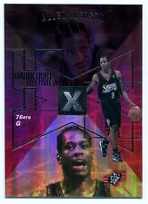 1997-98 SPx Hardcourt Holoview ALLEN IVERSON Rare Non-Die Cut Blank Back Proof