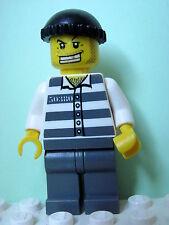LEGO Minifig cty007 @@ Police Jail Prisoner 50380 - 7237 7245 7743 7744 7899
