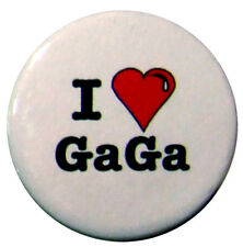 I Love Lady Gaga 25mm (1inch) badge - I Heart Lady Gaga
