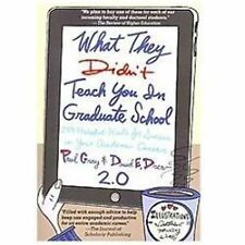 What They Didn't Teach You in Graduate School : 299 Helpful Hints for Success...
