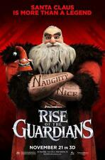 POSTER LOCANDINA LE 5 LEGGENDE RISE OF THE GUARDIANS BABBO NATALE JACK FROST #5