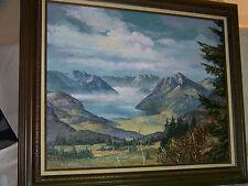 *Tom J. Dooley* Listed Artist Original Oil On Canvas Landscape Painting