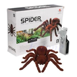 Araña Tarantula A Control Remoto Realista Articulos Para Bromas Divertido
