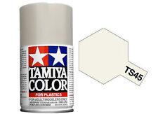 Tamiya 85045. Spray TS-45. Pintura esmalte color Blanco Perla