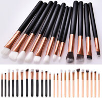12pcs Makeup Brushes Kit Set Powder Foundation Eyeshadow Eyeliner Lip Brush New
