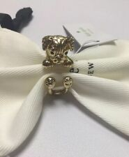 Kate Spade New York Puppy Dog Ring Size 6 w/ KS Dust Bag New