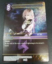 FINAL FANTASY TRADING CARD GAME FFTCG PROMO LIGHTNING 5-116H Pre RELEASE FOIL