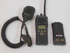 Motorola XTS-2500 H46KDF9PW6BN VHF 136-174MHz P25 Two-Way Radio w/ Battery + Mic