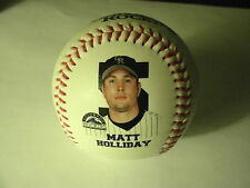 2007 Matt Holliday Colorado Rockies Commemorative Baseball V1