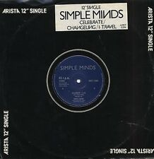 Simple Minds Celebrate, Changeling, I Travel  12""