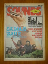 NME 1984 JUL 14 RUBBER RODEO PET HATE EURYTHMICS WAIT