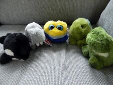 New listing Puffkins Lot of 5 ~ Reptiles ~ Water Animals ~ Killer Whale ~ Frog ~ Turtle