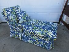 Designer Chaise Fainting Couch Sofa