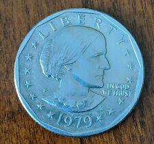 "Susan B Anthony 1979 One Dollar Coin, Very Rare Philadelphia Mint ""P"""