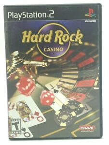 Hard Rock Casino (Sony PlayStation 2, 2006 PS2 ) Complete With Manual CIB Tested