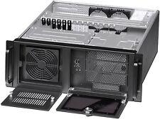 "4U (3x5.25""+ 9x3.5""Bay)(Quality Heavy-Duty)(Rackmount Chassis)(mATX/ITX Case)NEW"