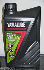 YAMALUBE Yamaha 4 Takt vollsynthetisches Motoröl Fully Synthetic 10W-40 1 Liter