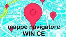Mappe Navigatore Autoradio Cinesi Win CE Europa 2017 Italiano Autovelox