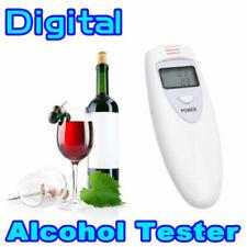 Police Alcohol Breathalyzer Digital Breath Analyzer Tester LCD Detector Keychain