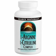 L-Arginine L-Citrulline Complex, 1,000 mg, 120 Tablets