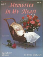 Memories In My Heart Vol 2 Diane Richards Paperback 1988 Tole Painting Patterns