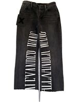 Rare Alexander Wang Black Denim Jeans - Size 26 Perfect Condition. Worn Once
