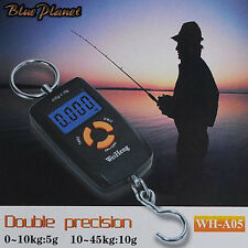 Pocket Size Digital fishing Scale 45kg Good Quality Accurate Result UK BL001