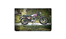 1967 bsa b44 Bike Motorcycle A4 Retro Metal Sign Aluminium