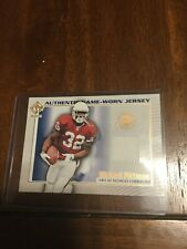 2002 Private Stock Game Worn Jsy Michael Pittman Buccaneers