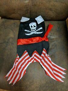 Pirate Dog Pet Costume Pet Halloween Dress Up Fun New Small