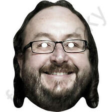 Dave Myers Celebrity Chef Hairy Bikers Card Mask - All Our Masks Are Pre-Cut!