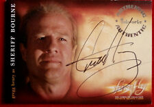 Joss Whedon's FIREFLY - GREGG HENRY, Sheriff Bourne - AUTOGRAPH Card A9 Inkworks