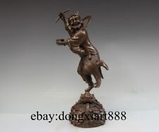 """16"""" Chinese Bronze God of literature The first place kui xing Fengshui Statue"""