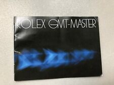 booklet Rolex GMT Master 16750 16758 16753 stampato nel 1981 USA inglese