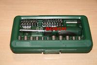 Bosch 2607017377 Schrauber- und Bit-Set 46teilig Bosch inkl Torx-Kreuz Neu OVP