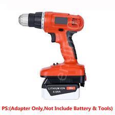 Black+Decker 20V LBX20 Li-ion Batteries Convert to 18V Ni-CD Power Tools Adapter